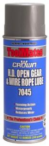 Crown 7045開放式齒輪鋼索潤滑劑