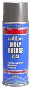 Crown 7041二硫化鉬潤滑油脂-高壓高振動使用、耐溫232℃